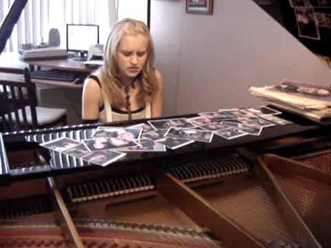 Rachel Perry sings,