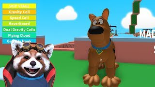 SCOOBY DOO OBBY in ROBLOX