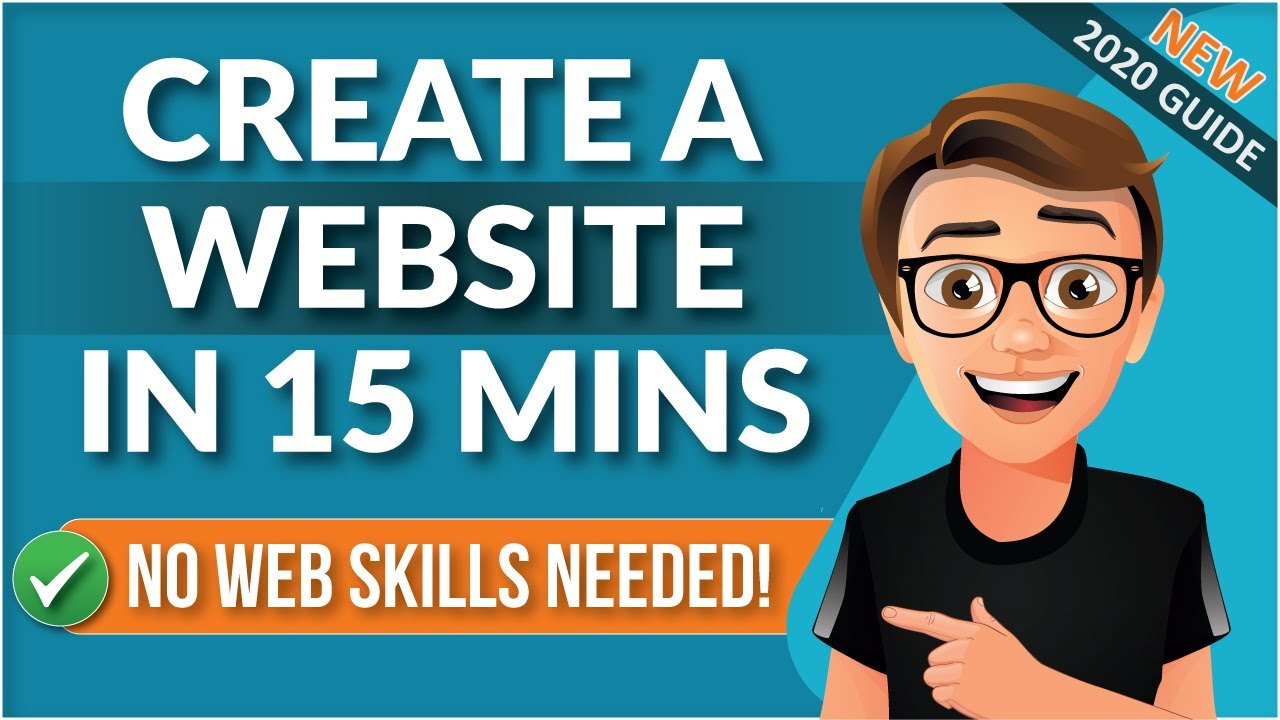 How To Create A Website With WordPress 2020 [15 Mins]