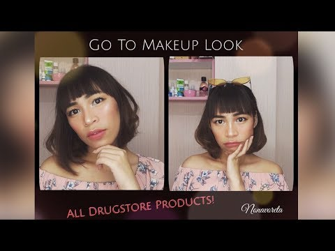 go-to-makeup-look-with-drugstore-products-(indonesia)---nonavoreta