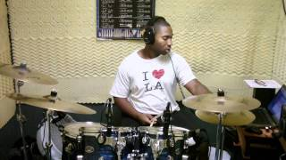 "Kenneth - ""Israel & New Breed"" - Turn it Around ""Drum Cover"""