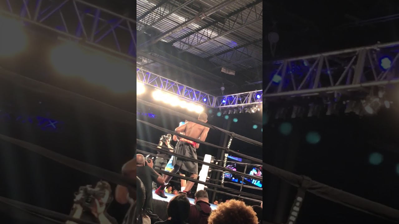 Brandon  BROB  Robinson Knocks out  Brandon Clark at 2300 arena & Brandon