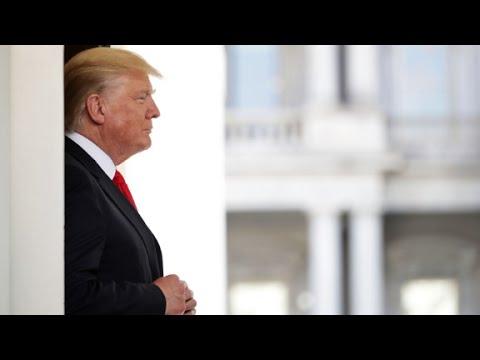 What is Trump's TV news regimen?