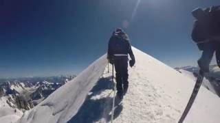 Climbing Mont Blanc - 2016