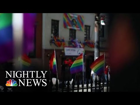 Remembering The Stonewall Riots As Nation Marks 50th Anniversary | NBC Nightly News