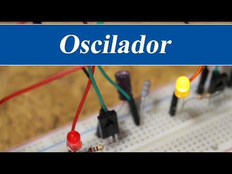 Oscilador con transistores y condensadores - Electrónica básica