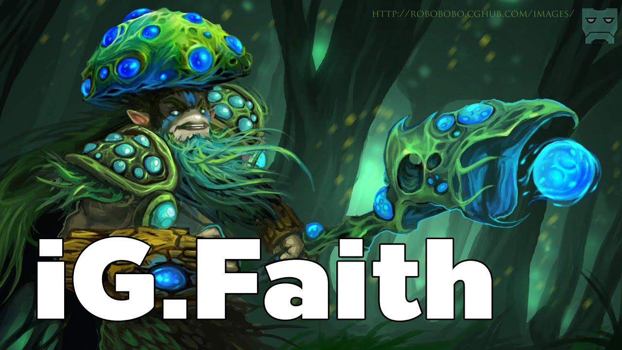 iG.Faith Pro Hero Nature's Prophet Jungle Rank MMR Game