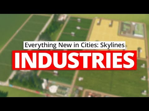 Cities: Skylines INDUSTRIES (Season 13)