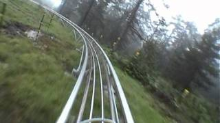 Long Alpine Coaster (Imst)  - no brakes!