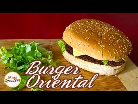 Recette Burger Oriental Facile et pas Cher