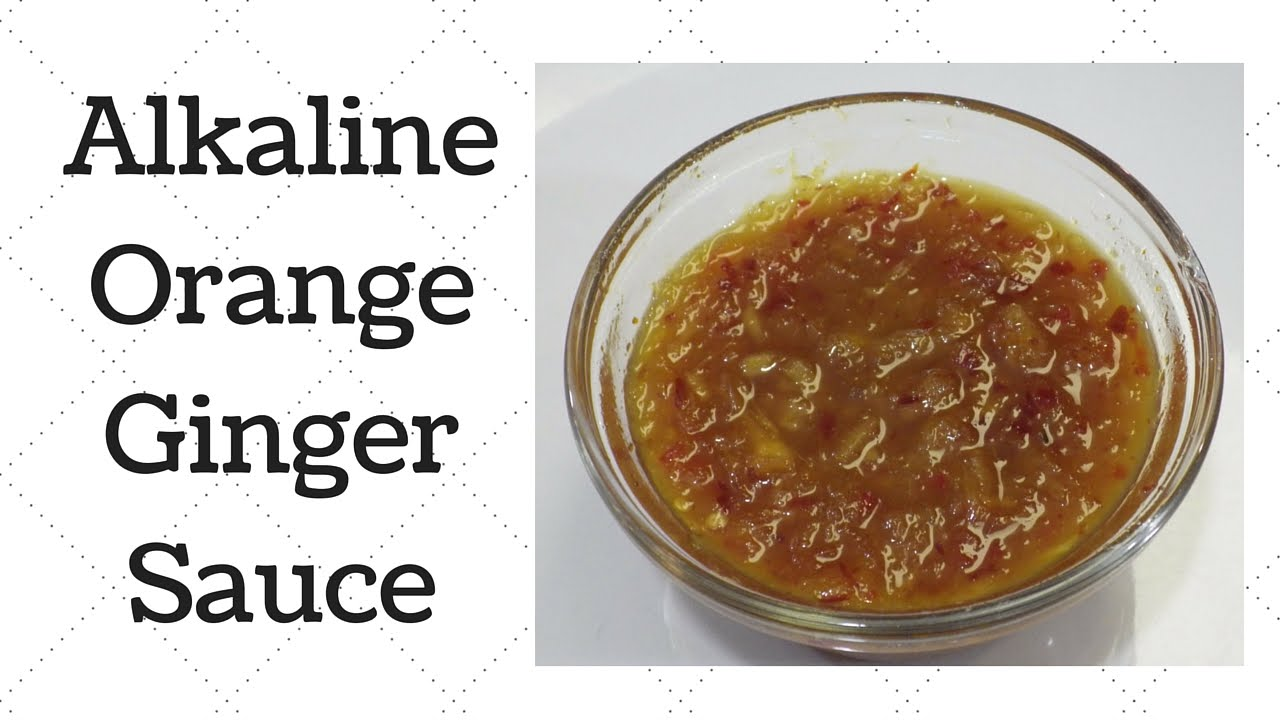 Orange Ginger Sauce Recipe — Dishmaps