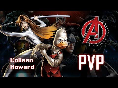 Marvel: Avengers Alliance - Howard, o pato e Colleen Wing!