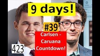 9 days to Carlsen-Caruana! ¦ Strange if not Suspicious!