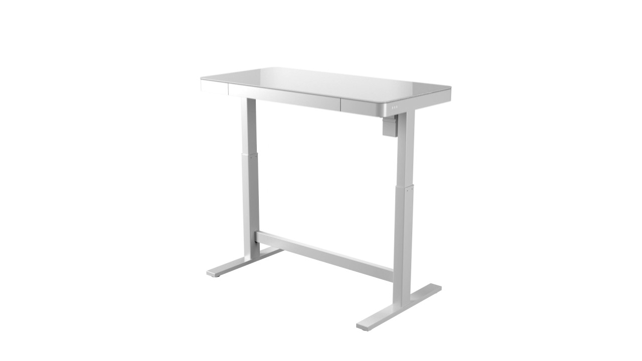 Bell O White Adjule Height Desk From Twin Star International