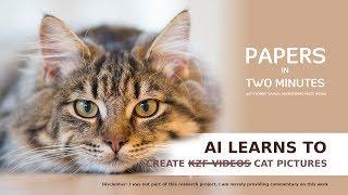 AI lernt, zu Erstellen KZF Videos Katze Bilder: Papiere in nur Zwei Minuten #1