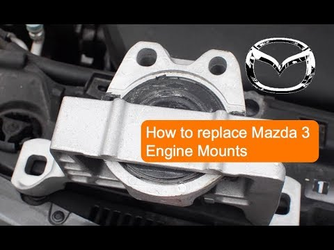 [HD 1080p] How To Replace 04-13 Mazda 3 Engine Mount