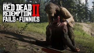 Red Dead Redemption 2 - Fails & Funnies #9 (Random & Funny Moments)