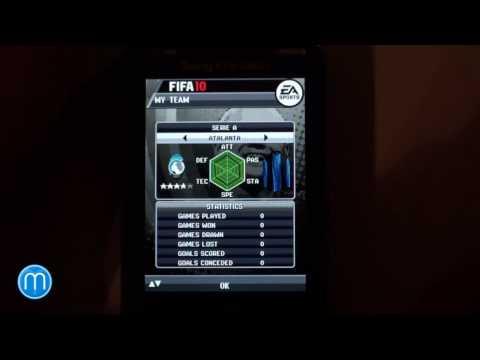 Sony Ericsson Yari menu