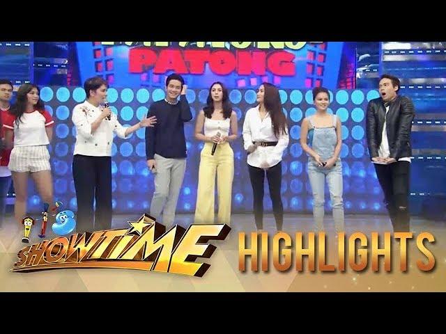 It's Showtime: Ngayon at Kailanman stars join Tong-Tong-Tong-Tong Papatong-Patong game