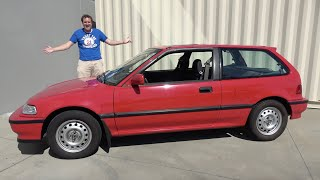 The 1991 Honda Civic Si Was an Early Hot Hatchback