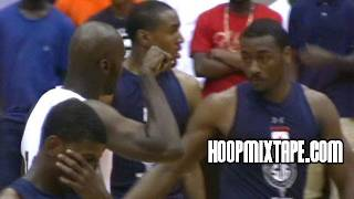 John Wall Responds To Defender Mocking Him! Crazy Battle With Julius Hodge!!! thumbnail
