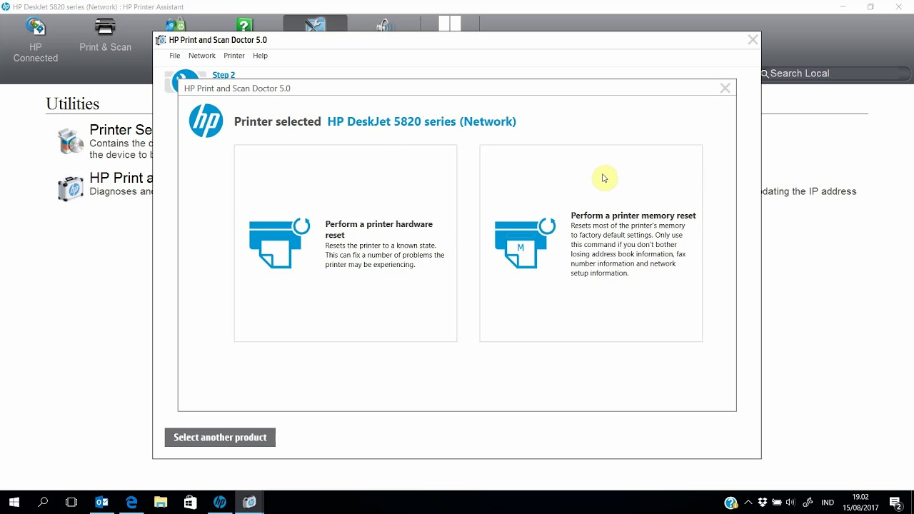 Reset Printer Wireless dengan HP Print and Scan Doctor !!! WOW