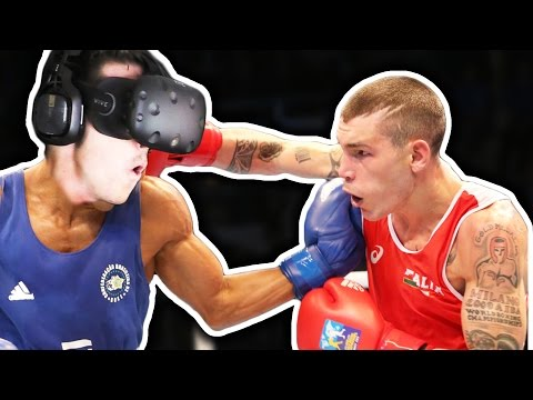 BOXING IN VIRTUAL REALITY! |