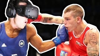BOXING IN VIRTUAL REALITY!