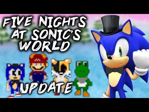 FNAS WORLD - UPDATED VERSION [FIVE NIGHTS AT SONIC'S WORLD UPDATE 3.0] - FNAF WORLD Fan-Game