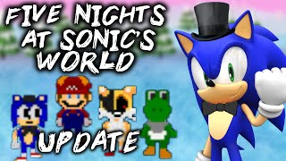 FNAS WORLD - UPDATED VERSION [FIVE NIGHTS AT SONIC'S WORLD UPDATE 3.0] - FNAF WORLD Fan-Game