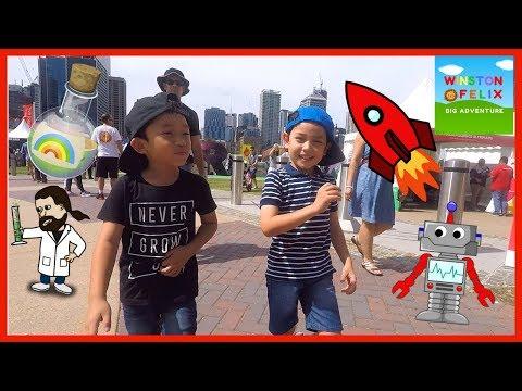 World Science Festival BRISBANE | Winston & Felix Big Adventure
