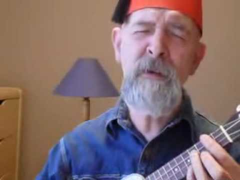 Sheik YerMoni Makiir sings Flower Punk (Frank Zappa ukulele cover)