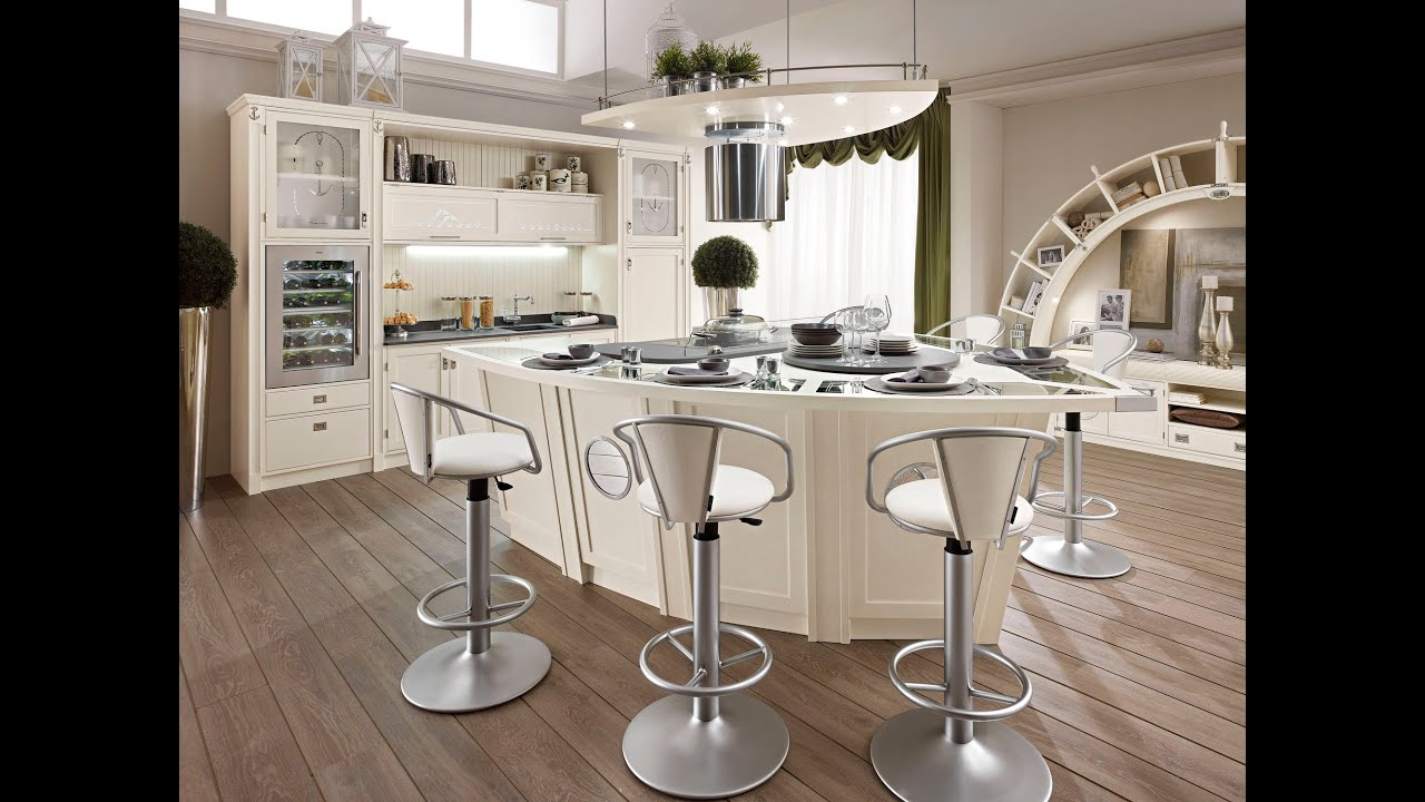 Attractive Kitchen Counter Stools U2013 12 Modern Ideas And Design Photos   YouTube