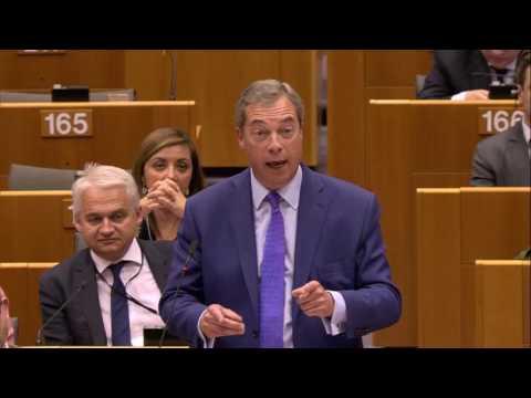 Nigel Farage   Hungary debate in European Parliament 2017-04-26