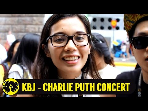Charlie Puth - One Call Away Concert at Singapore