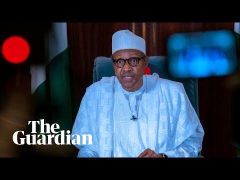 Nigerian president Muhammadu Buhari on closure of controversial Sars police unit
