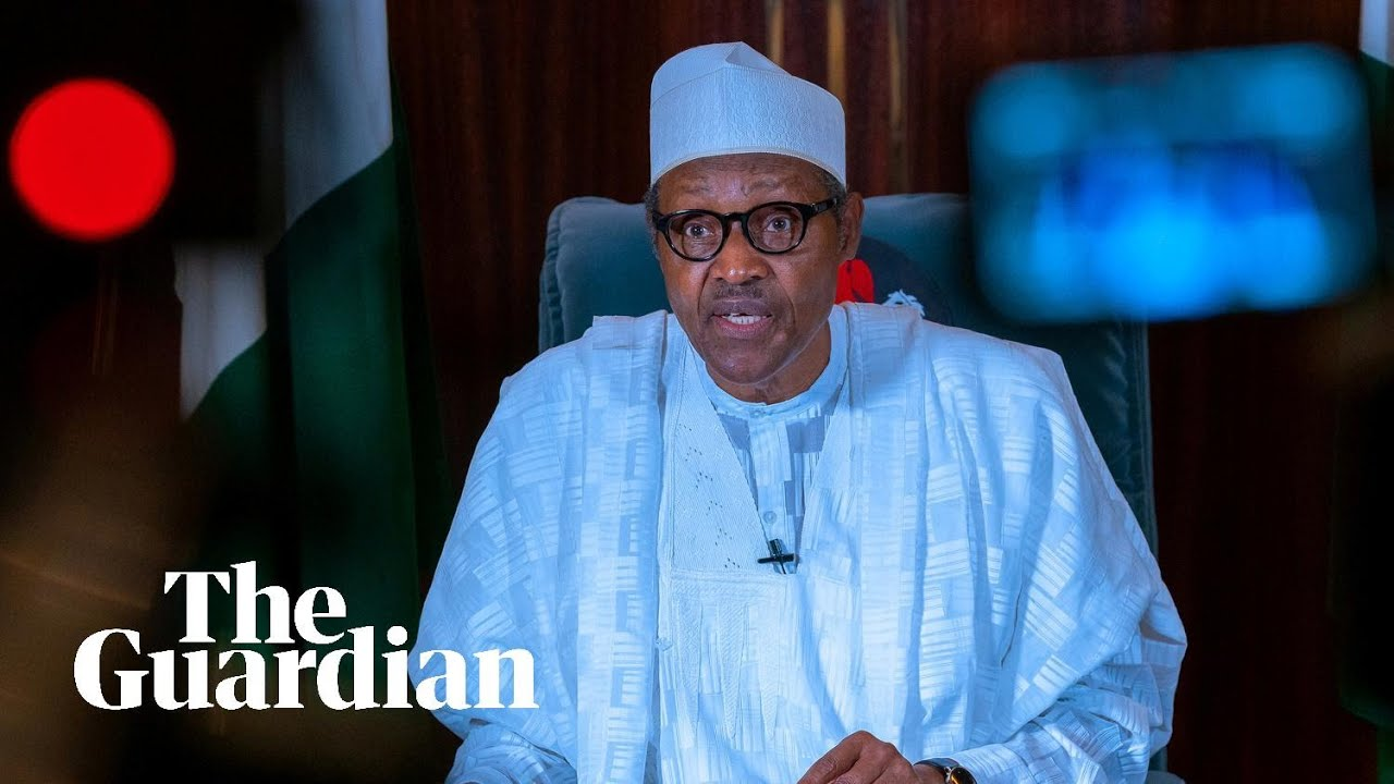 Nigerian president Muhammadu Buhari on closure of controversial Sars police unit