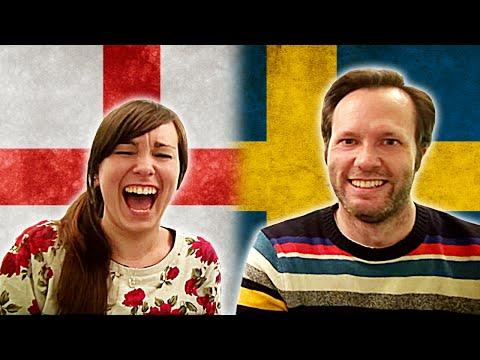 ENGLISH VS SWEDISH - Language Challenge Feat. Icklenellierose