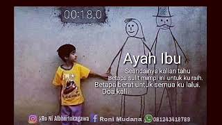 Download lagu Story Wa Tentang Ayah Ibu MP3