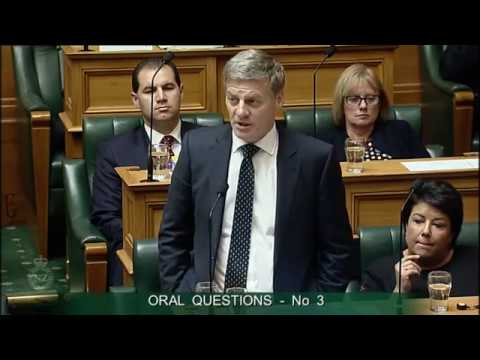 Question 3 - Andrew Little to the Prime Minister