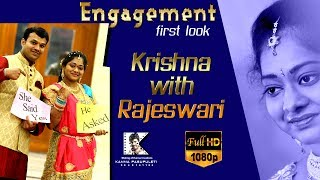 Krishna + Rajeswari first look
