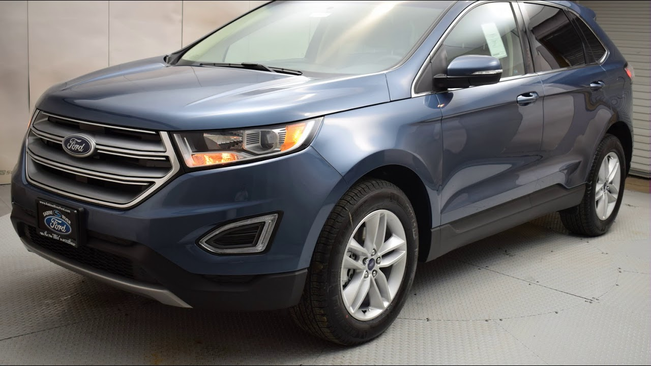 Blue Metallic Ford Edge D Sport Utility