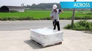 파렛트 포장 랩핑기 동영상