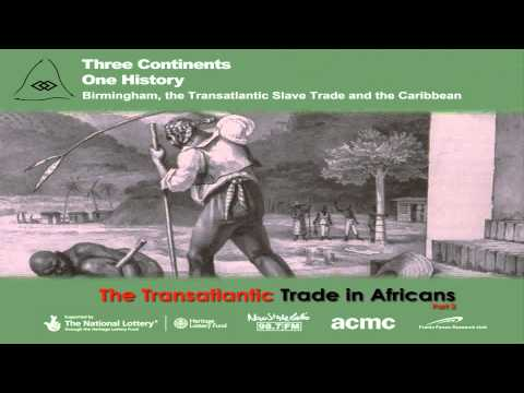 The European Expansion Into Africa - The Triangular Trade (part 2)