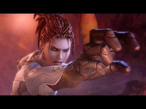 Domination: Kerrigan Subdues Zagara Broodmother on Char (Starcraft 2: Heart of the Swarm)