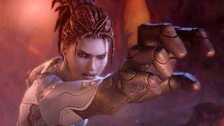Domination: Kerrigan Subdues Zagara Broodmother on Char (Starcraft 2: Heart of the Swarm)