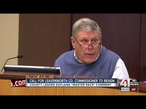 Leavenworth commissioner sparks criticism