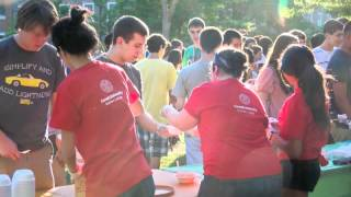 Cornell University Summer College Move-in Day 2012
