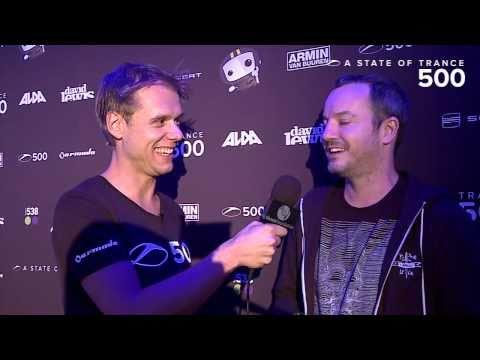 ASOT 500 Video Report - Armin van Buuren interviews Max Graham