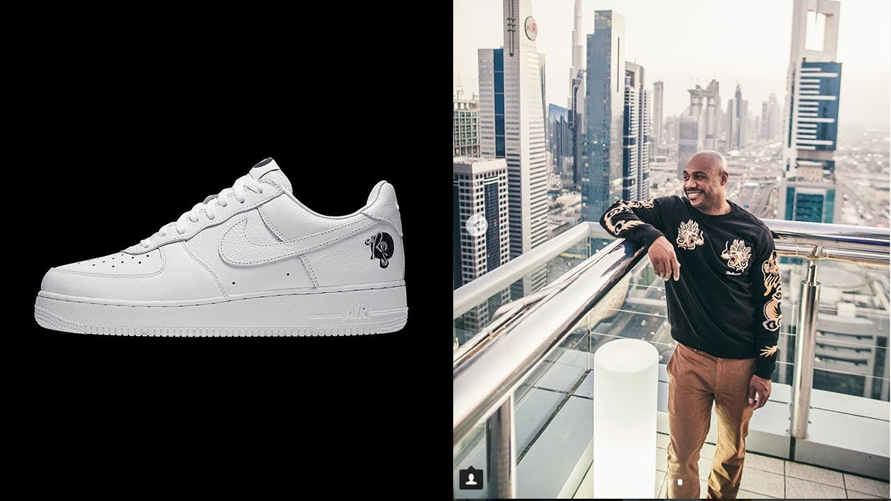 Interview with Kareem 'Biggs' Burke (Roc-A-Fella) On The Nike Air Force 1  Hip-Hop's Sneaker
